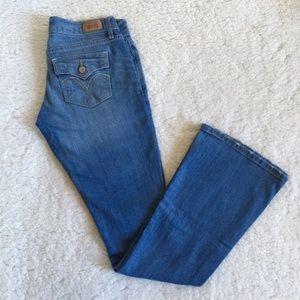 """Levi's 524 Too Super Low Bootcut Jeans 3M 28"""""""